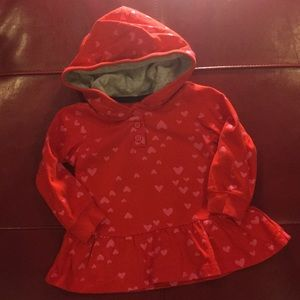 Gently used 12m baby hoodie.